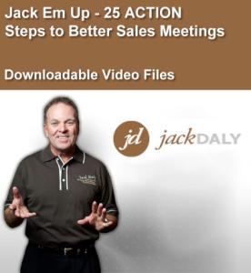 Jack Em UpJack Em Up - 25 ACTION Steps to Better Sales Meetings